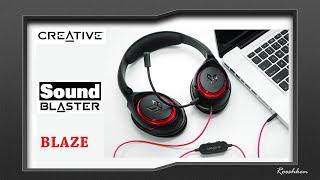 Creative Sound Blaster Blaze - Test i recenzja następcy HS-800 Fatal1ty