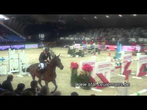 Dolce Vita, Patrik Spits, CSIW 5* Mechelen 1.50m, 29-12-2014