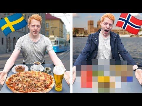 Vad får man för 1000 kr i Sverige VS Norge?