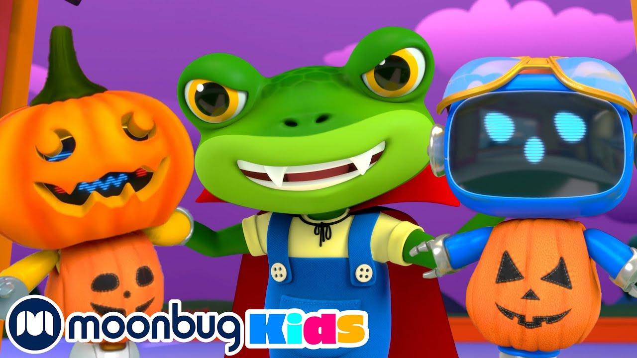 The Garage Is Haunted - Gecko's Garage | Kids Cartoons & Nursery Rhymes | Moonbug Kids
