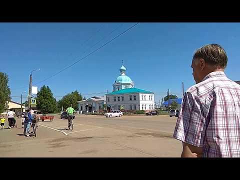Российская глубинка. Поселок Тоншаево. Нижегородская область.