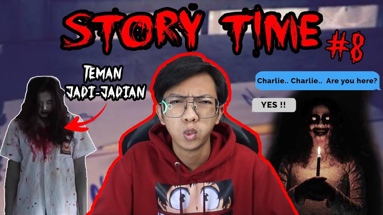 STORY TIME #8 Charlie Charlie Are You Here?.... #Sptrakori #HorrorStory