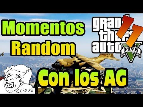 GTA V Momentos Random, reto aterrizar en el banco Ep. 11