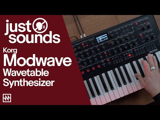 Just Sounds: Korg Modwave Wavetable Synthesizer