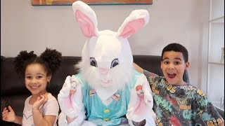 Easter Bunny Surprise Easter Egg Hunt Pretend Play | FamousTubeKIDS