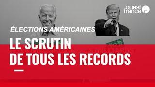 Retour en chiffres sur des élections américaines records