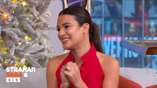 Lea Michele Talks 'Scream Queens' Reboot, Gives Hula Dancing Lessons