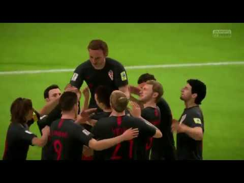 Croatia's Road To The World Cup Final ft. Drago Čosić (FIFA 18 REMAKE)