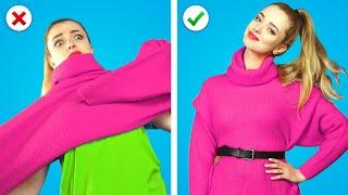FIX IT NOW! 🎀 12 Astuces de Mode de Fille & Vêtements DIY pour Améliorer ta Vieille Garde-Robe