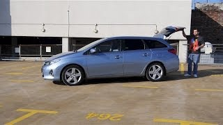 (ENG) Toyota Auris Touring Sports - Test Drive and Review