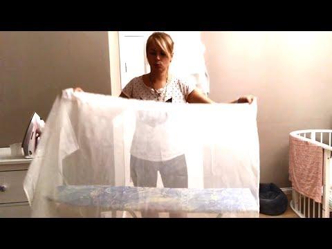 Как сушить тюль после стирки
