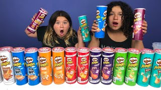 Don't Choose the Wrong Pringles Slime Challenge