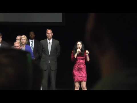 Color Guard National Anthem 2017 DACC Commencement