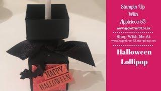 Halloween Lollipop Treat Box