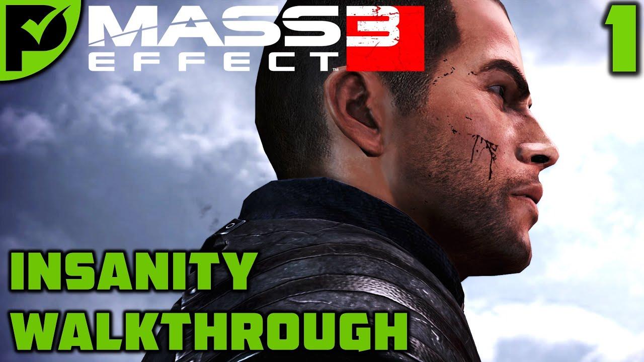 Prologue: Earth - Mass Effect 3 Insanity Walkthrough Ep. 1 [Legendary Edition]