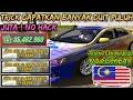TERKINI ! CARA DAPAT DUIT BANYAK TANPA HACK DAN MOD - CAR PARKING MULTIPLAYER (MALAYSIA) #2
