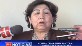 CONTRALORIA REALIZA AUDITORIA A GESTIÓN  DE OSCAR MONTES