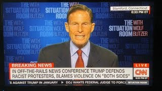 Lefty Richard Blumenthal: 'Donald Trump Does Not Represent the Real America'