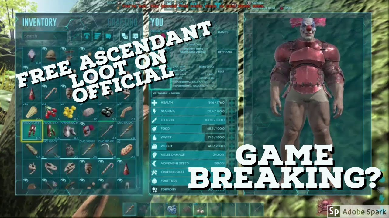 How to get free ascendant loot on official game breaking how to get free ascendant loot on official game breaking ark survival evolved malvernweather Image collections