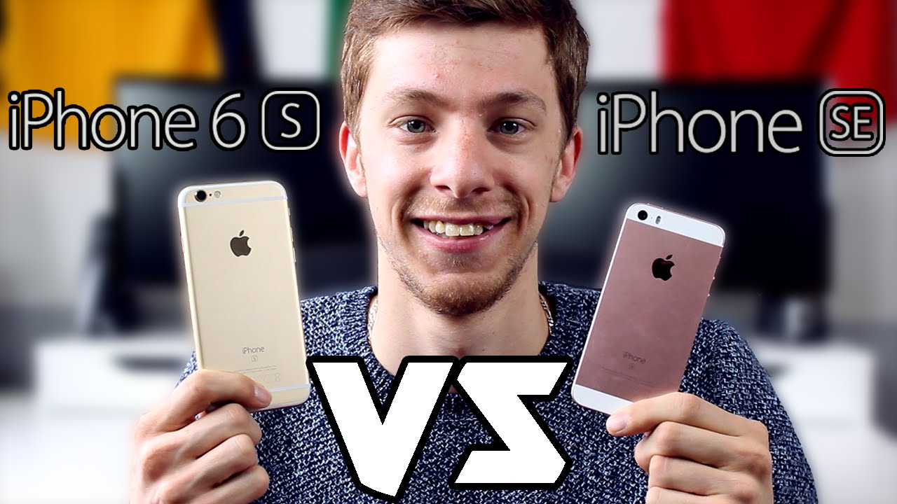 Apple Iphone S Vs Se