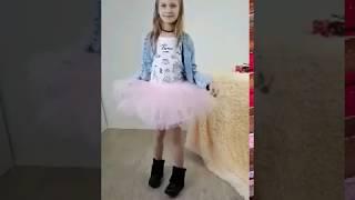 Многослойная фатиновая юбка обзор