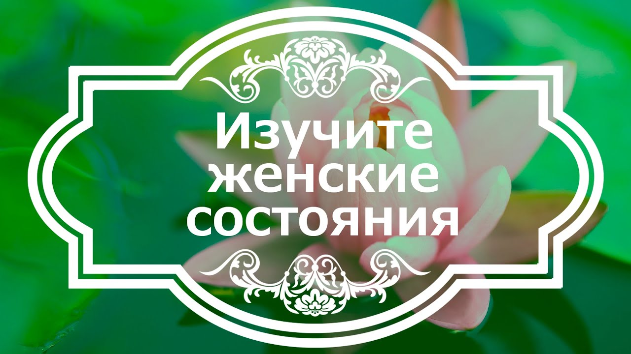 Екатерина Андреева - Изучите женские состояния