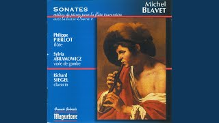 """6 Sonates melees de pieces, Op. 2: Flute Sonata No. 3 in E Minor, """"La Dherouville"""": III...."""