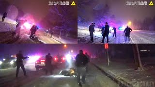 Dashcam/Bodycam Video Of Officer-Involved Shooting In Grand Rapids, Michigan