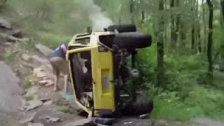 Fails Compilation Extreme Jeep crash  4x4 - каскадеры, фокус не удался (2019)