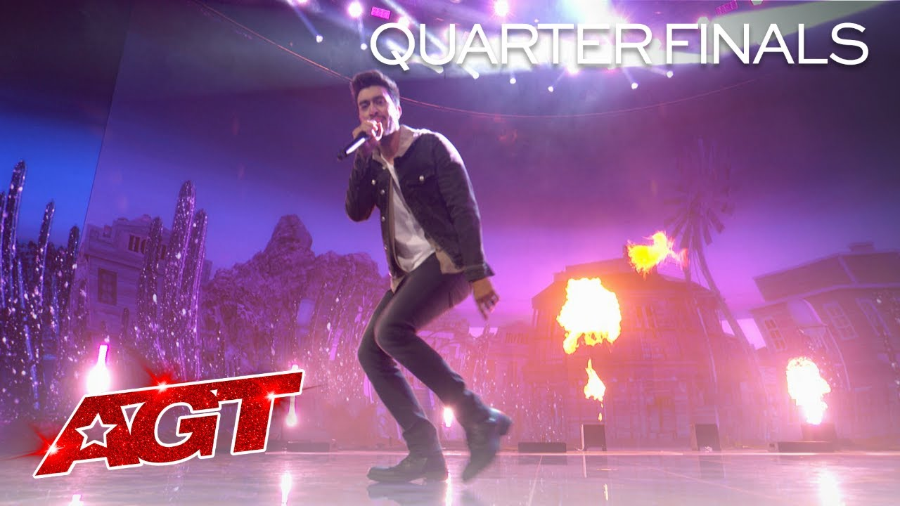 AMAZING Voice Impressions of Your Favorite Rappers by Vincent Marcus - America's Got Talent 202