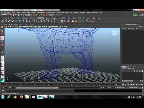 Rigging Class - Rigging a Quadruped Part 1