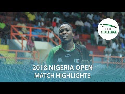 Jason Pontoise vs Ayo Omotara | 2018 Nigeria Open Highlights (Group)