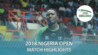 Jason Pontoise vs Ayo Omotara | 2018 Nigeria Open Highlights (Group)