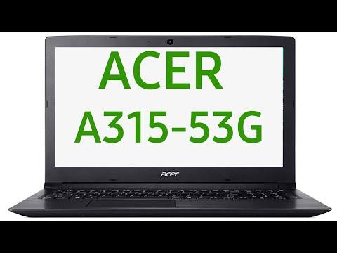 Ноутбук Acer Aspire 3 A315-53G