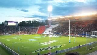 Himno Nacional Los Pumas vs Australia Mendoza 04-10-14
