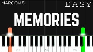 Baixar Memories - Maroon 5 | EASY Piano Tutorial