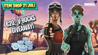 ITEM SHOP 21 JULI - !gamble !steal !rank (€20 Giveaway) *#FortniteNL* (SAC: KALASJJ)