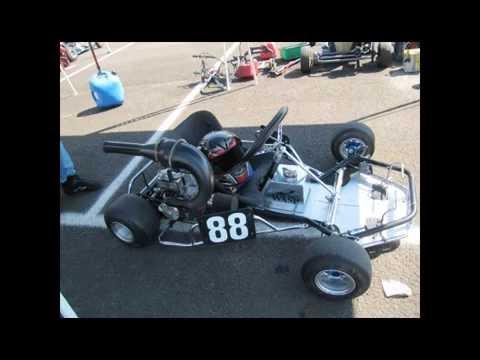 Vintage Go Kart Show, Exhibiton Races, Medford, OR