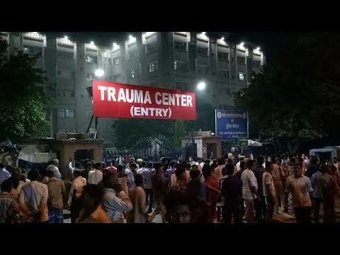 Over six dead inKGMU fire; patient's safety at stake