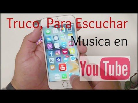 Pequeño TRUCO Como escuchar musica de YouTube en el fondo, sin interrupciones