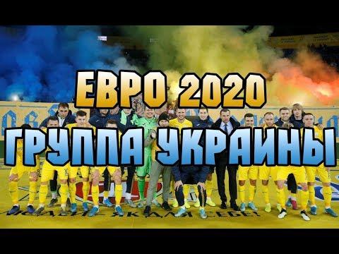Евро 2020 Украина. Корзины. Группы. Жеребьевка