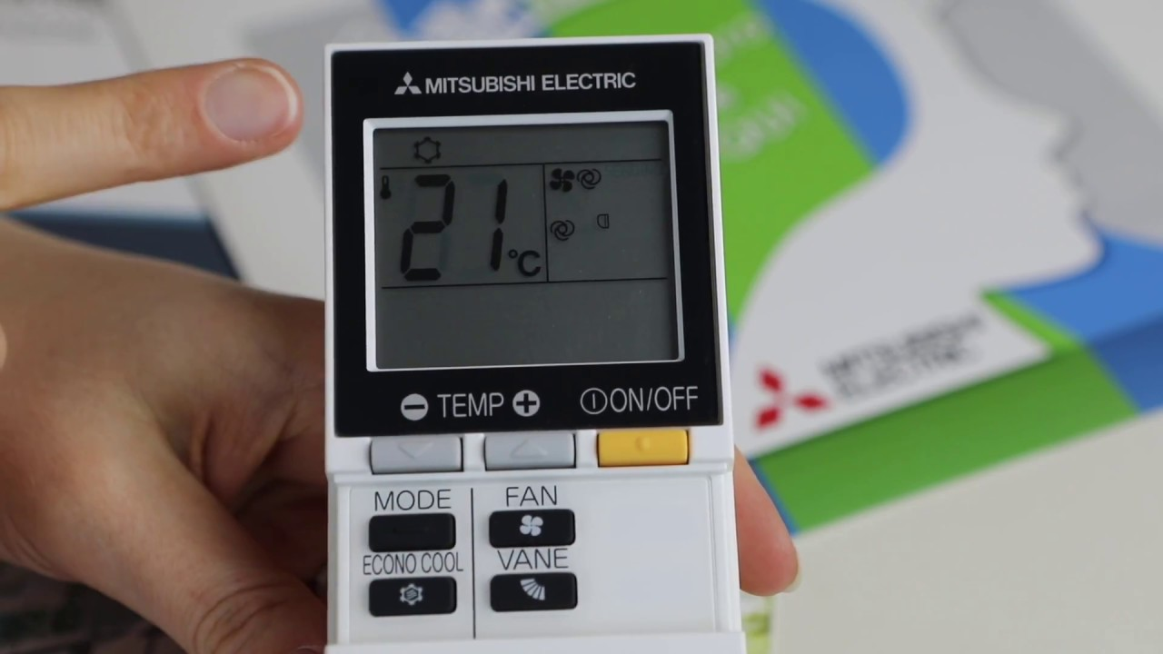 Funzioni Base Telecomando Climatizzatore Mitsubishi Electric