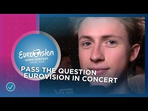 Eurovision stars interview each other - Pass The Question - Eurovision 2019