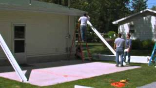 Lowe's - Americana Building Products - Teton Patio Cover Part 1