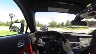"""""""بالفيديو"""" شاهد اختبار قيادة رولز رويس 2017 الشبح الأسود Rolls-Royce Wraith Black"""