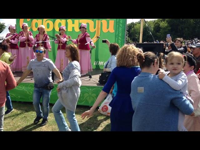 Татары танцуют. Сабантуй 2019 (Москва, Коломенское)