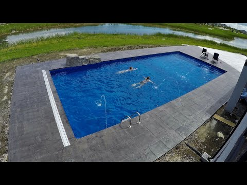 MASSIVE Pool Construction Timelapse