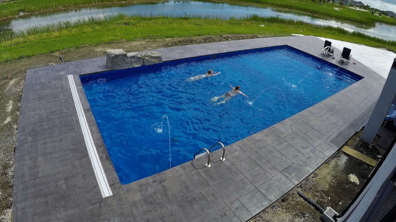 massive pool construction timelapse youtube