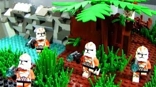 Lego Star Wars Republic Training Outpost MOC