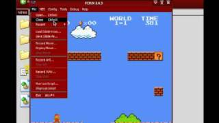 How to play NES Roms using an emulator (FCEUX)